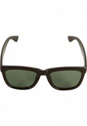 Unisex slnečné okuliare MSTRDS Sunglasses September brown/green