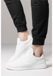 Unisex športová obuv Urban Classics Light Runner Shoe biela