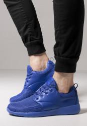Unisex športová obuv Urban Classics Light Runner Shoe blue