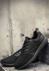 Unisex športová obuv Urban Classics Light Runner Shoe čierna