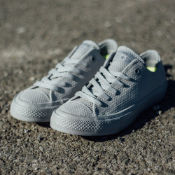 Unisex Tenisky Converse Chuck Taylor All Star II Ox Lux Leather Grey #1
