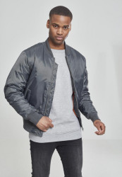 URBAN CLASSICS BASIC BOMBER JACKET COOL GREY