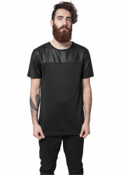 URBAN CLASSICS FOOTBALL MESH LONG JERSEY BLK/BLK