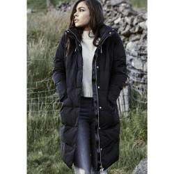 URBAN CLASSICS LADIES BUBBLE COAT BLACK