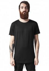 Pánske tričko URBAN CLASSICS Long Tail Tee black