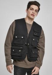 URBAN CLASSICS Pánska vesta URBAN CLASSCS Worker Vest black