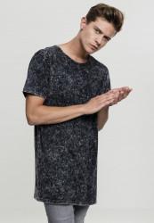 Urban CLASSICS Pánske tričko s krátkym rukávom Random Wash Tee čierne