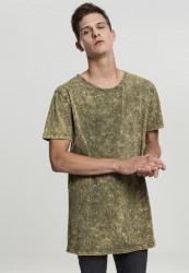 Urban CLASSICS Pánske tričko s krátkym rukávom Random Wash Tee olive
