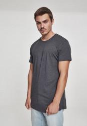 Pánske tričko URBAN CLASSICS SHAPED LONG TEE CHARCOAL