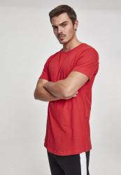 Pánske tričko URBAN CLASSICS SHAPED LONG TEE FIRE RED