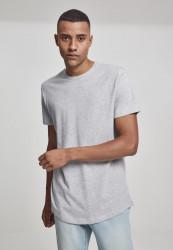 Pánske tričko URBAN CLASSICS SHAPED LONG TEE GREY