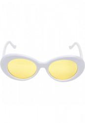 Urban CLASSICS Unisex slnečné okuliare UC 2 Tone Sunglasses wht/yel
