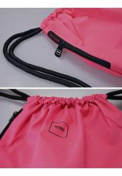 Vrecko MSTRDS Basic Gym Sack neonpink