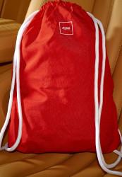 Vrecko MSTRDS Basic Gym Sack red