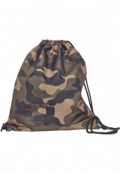 Vrecko Urban Classics Gym Bag wood camo