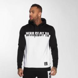 Who Shot Ya? / Hoodie B and W in black