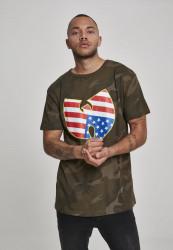 Wu-Wear American Camo Tee Farba: CAMO,