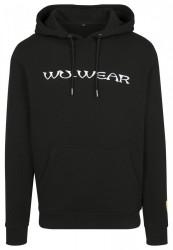 Wu-Wear Embroidery Hoody Farba: black,
