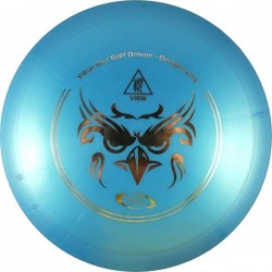 YIKUNSPORTS Frisbee Discgolf View Driver Dragon Line blue