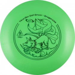 YIKUNSPORTS Frisbee Discgolf View Driver Dragon Line green