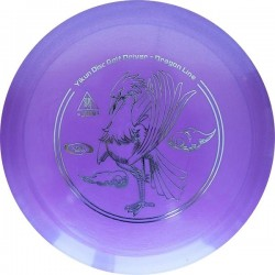 YIKUNSPORTS Frisbee Discgolf View Driver Dragon Line purple