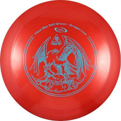 YIKUNSPORTS Frisbee Discgolf View Driver Dragon Line red