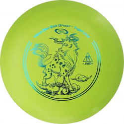 YIKUNSPORTS Frisbee Discgolf View Driver Tiger Line green
