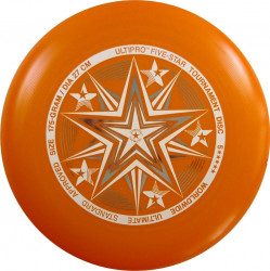 YIKUNSPORTS Frisbee UltiPro-FiveStar orange