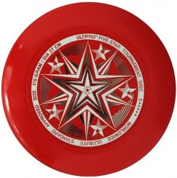 YIKUNSPORTS Frisbee UltiPro-FiveStar red