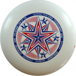 YIKUNSPORTS Frisbee UltiPro-FiveStar white