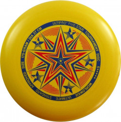 YIKUNSPORTS Frisbee UltiPro-FiveStar yellow