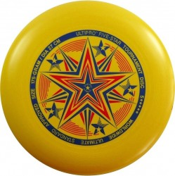 YIKUNSPORTS Frisbee UltiPro-FiveStar yellow