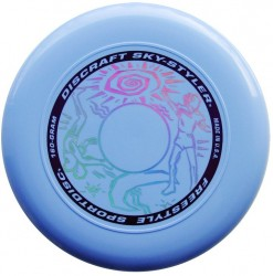 YIKUNSPORTS Frisbee UltiPro-Sky Styler light blue