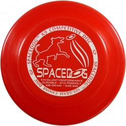 YIKUNSPORTS Frisbee UltiPro-Space Dog red