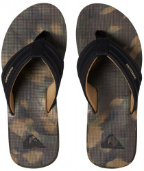Žabky Quiksilver Island Oasis black/brown/green