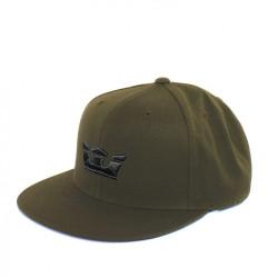 Zelený snapback Supra Icon