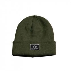 Zimná čiapka Alpha Industries X-Fit Beanie Dark Green