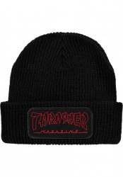 Zimná čiapka Thrasher China Banks Patch Black