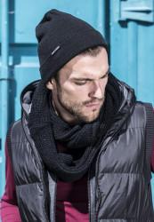 Zimná čiapka URBAN CLASSICS BASIC FLAP BEANIE black