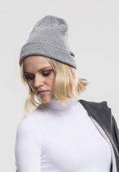 Zimná čiapka URBAN CLASSICS BASIC FLAP BEANIE grey