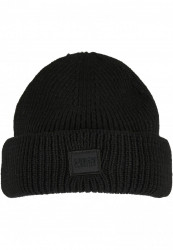 Zimná čiapka Urban Classics Knitted Wool čierna