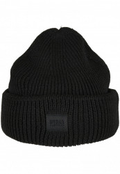 Zimná čiapka Urban Classics Knitted Wool čierna #1