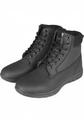Zimná obuv Urban Classics Runner Boots black/black/black