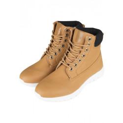 Zimná obuv Urban Classics Runner Boots Camel Black White