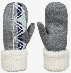 Zimné rukavice Roxy Lizzie HydroSmart Mittens heather grey