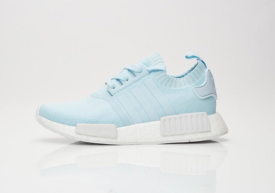 940f6977e0a ADIDAS ORIGINALS Dámské Tenisky Adidas NMD R1 Woman PK Ice Blue White BY8763