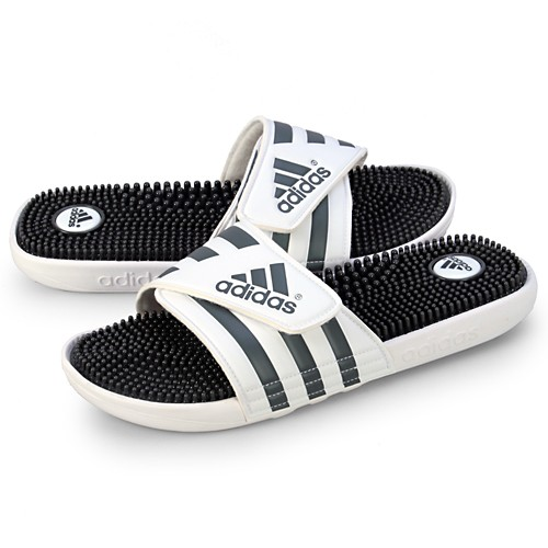 ADIDAS ORIGINALS Pánske šľapky Adidas adissage White Graphic White ... 6d91a0bf207