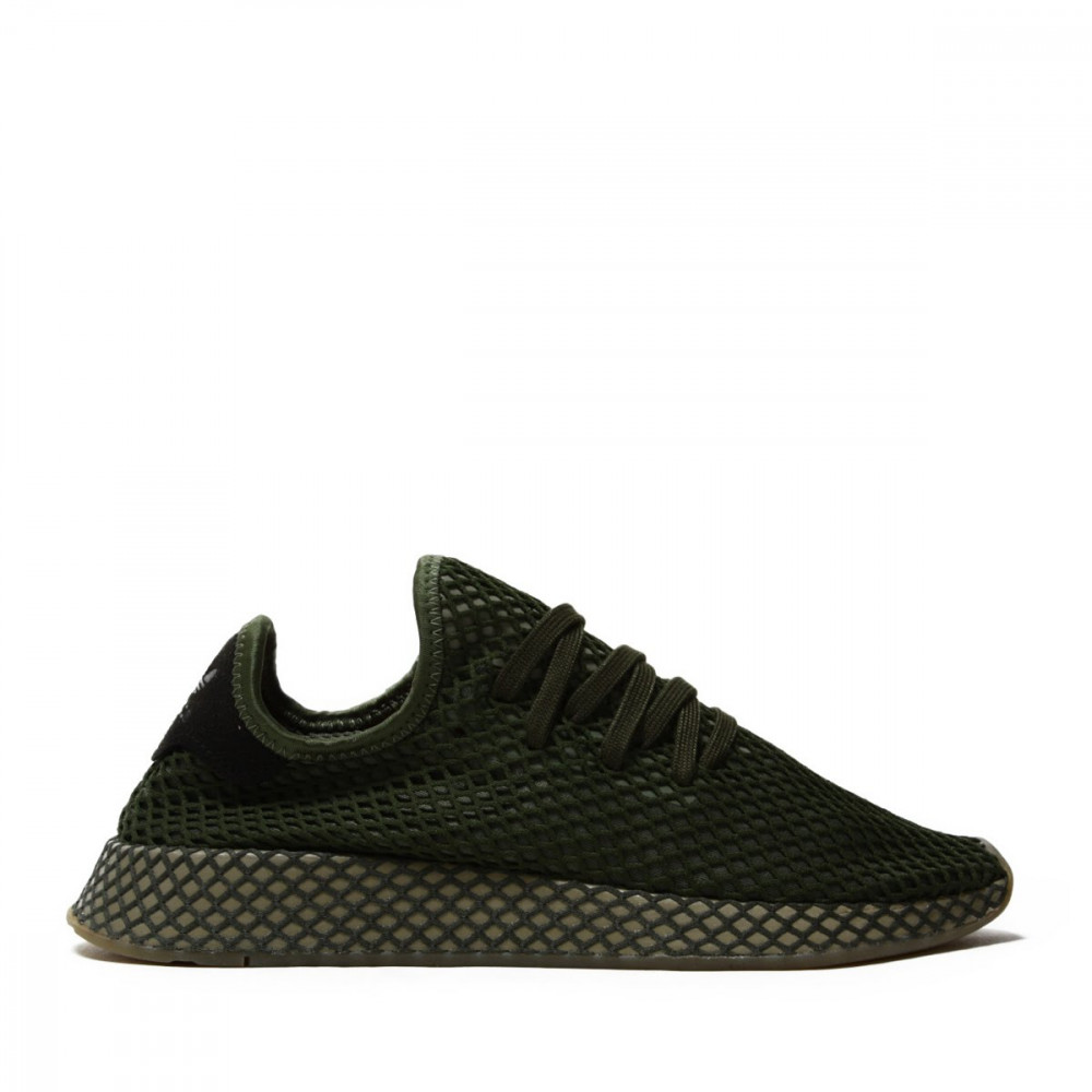 ADIDAS ORIGINALS Pánske tenisky ADIDAS DEERUPT RUNNER BASE GREEN & ORANGE