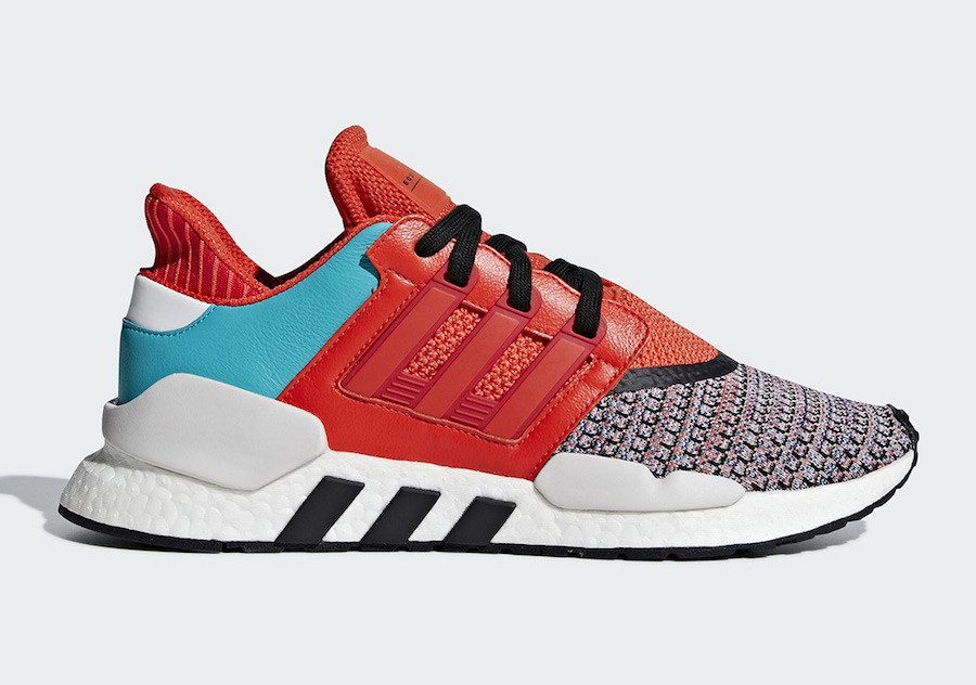 367216f60bc89 ADIDAS ORIGINALS Pánske tenisky ADIDAS ENERGY EQT SUPPORT 91/18 BOLD ORANGE,  WHITE & BLACK