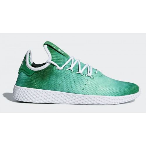 ADIDAS ORIGINALS Pánske Tenisky ADIDAS X PHARRELL WILLIAMS HU HOLI TENNIS  GREEN   WHITE 107084216ac